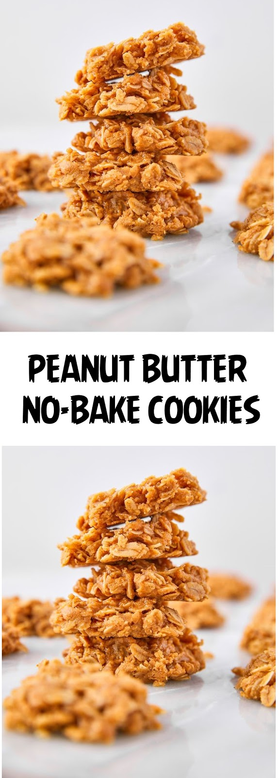 Peanut Butter No-Bake Cookies
