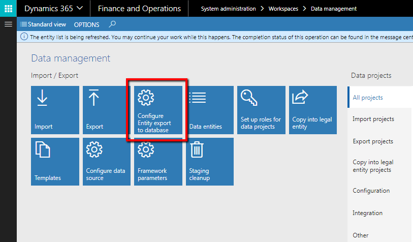 BYOD (Bring your own database) D365FO - Finance and Operations Community