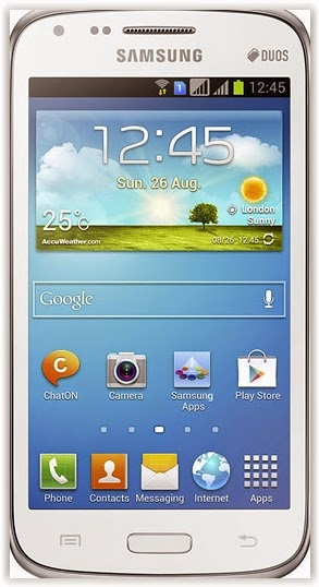 cara flash Samsung Galaxy Core Duos I8262