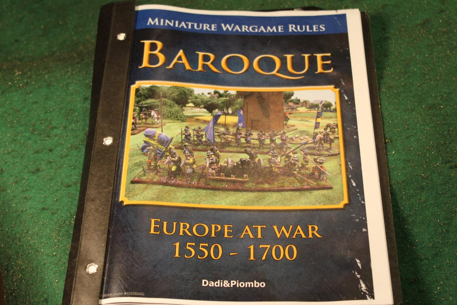 Armchair Commander: Baroque