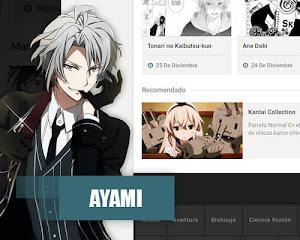 Ayami – plantilla anime responsive, blogger