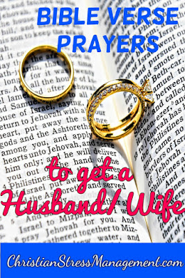 Bible verse prayers to find a husband or wife