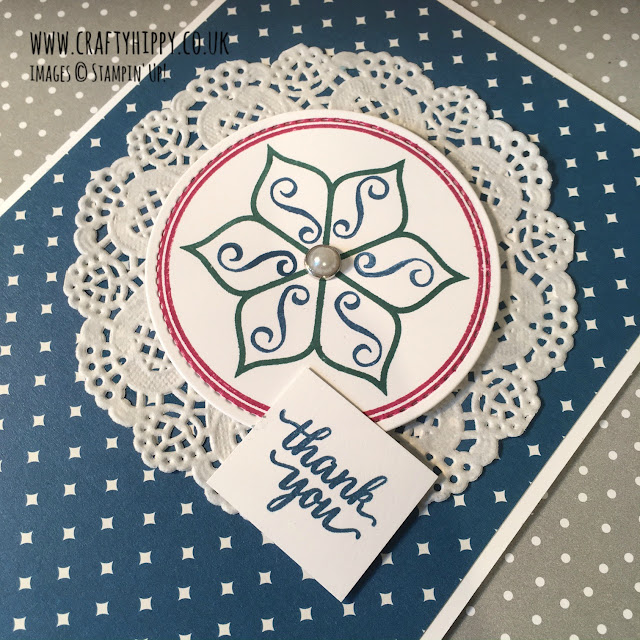 Eastern Beauty card, Stampin' Up!