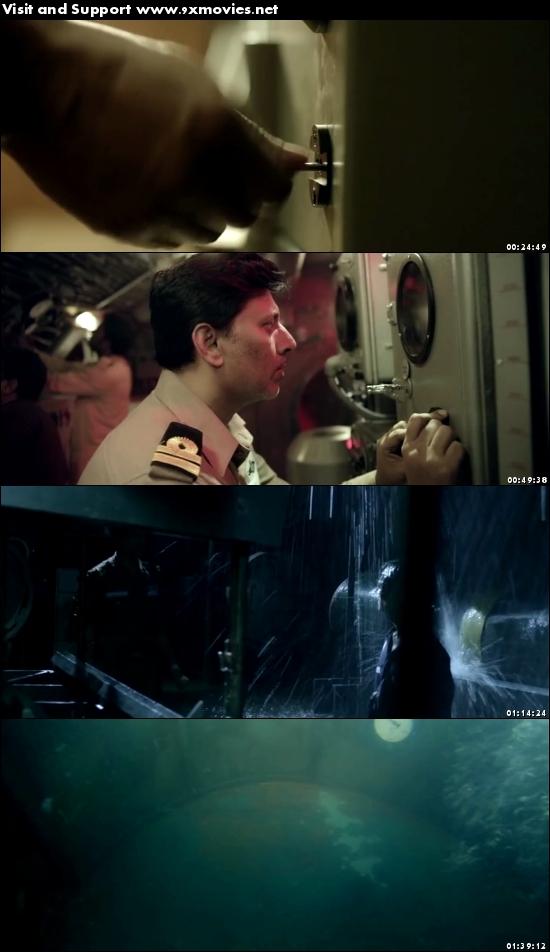 The Ghazi Attack 2017 Hindi 480p DVDRip