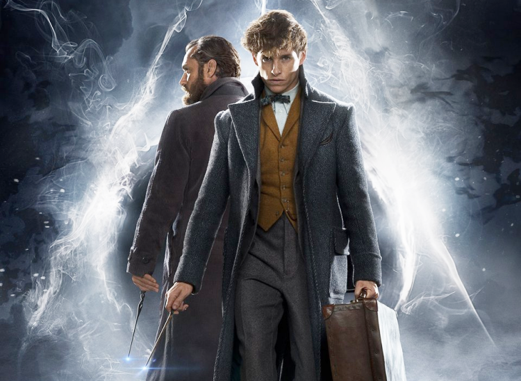 Fantastic Beasts: The Crimes of Grindelwald Newt Dumbledore Poster