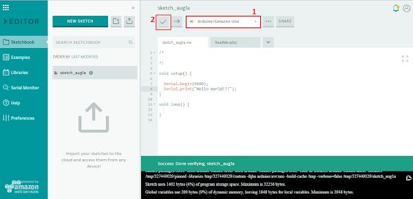 IDE verificação de código