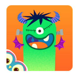 Monster Mingle de Cowly Owl app mosntruos halloween