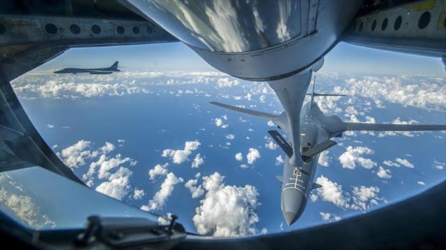 Bombarderos de EEUU se acercan a base de submarinos norcoreana