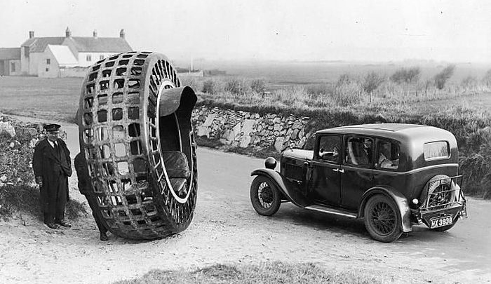 Just A Car Guy: Dr Purves's Dynasphere, 1932