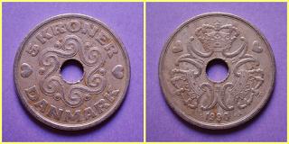 5 Coronas Dinamarca