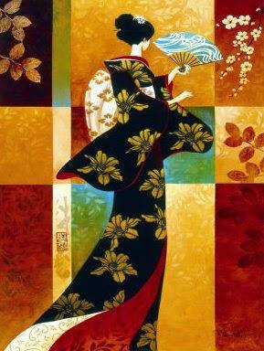 Sakura - Keith Mallett e suas pinturas cheias de charme