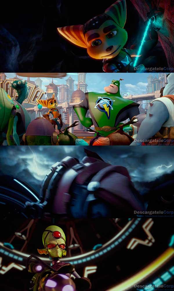 Ratchet y Clank La Pelicula HD 720p Latino