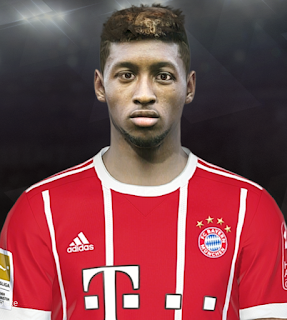 PES 2018 Faces Kingsley Coman by Shaft