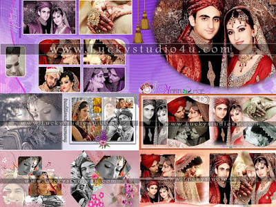 Fully Professional Wedding Album Design Psd Templates
