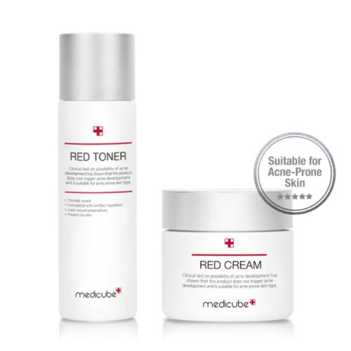 Red Line Toner & Cream Set