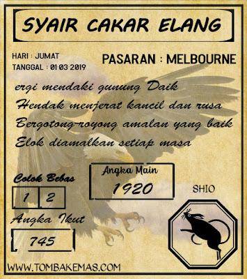 SYAIR MELBOURNE, 01-03-2019