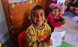 ONLY 1% OF AID FOR EARLY CHILD DEVELOPMENT GOES ON EDUCATION
