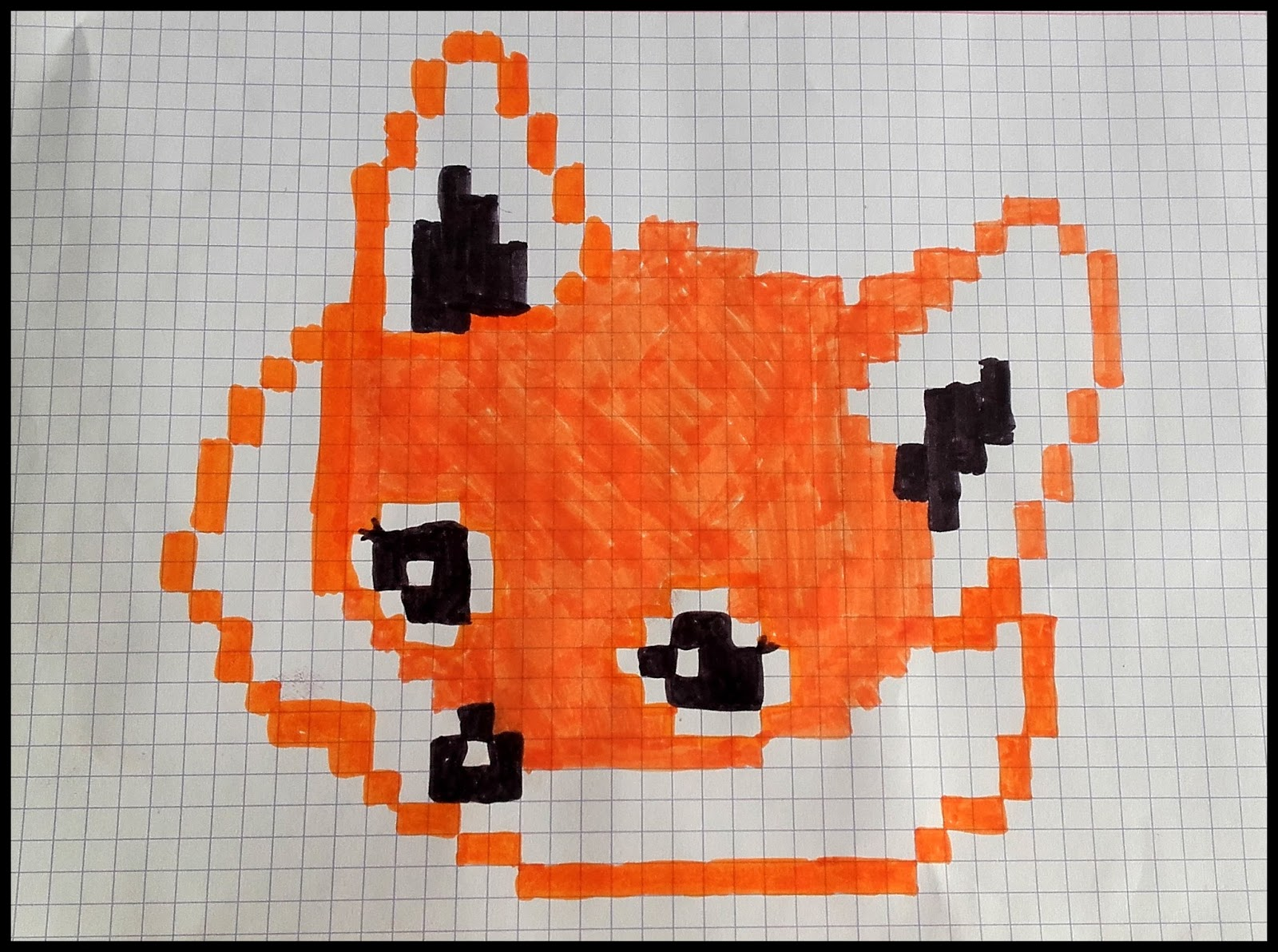 Dessins Pixel Art Kawaii