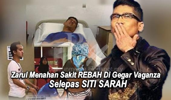 Sayu : Zarul menahan sakit REBAH di Gegar Vaganza selepas SITI SARAH (6 Gambar)