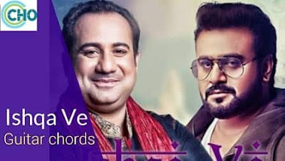 ISHQA VE Guitar Chords Accurate | Rahat fatah ali khan