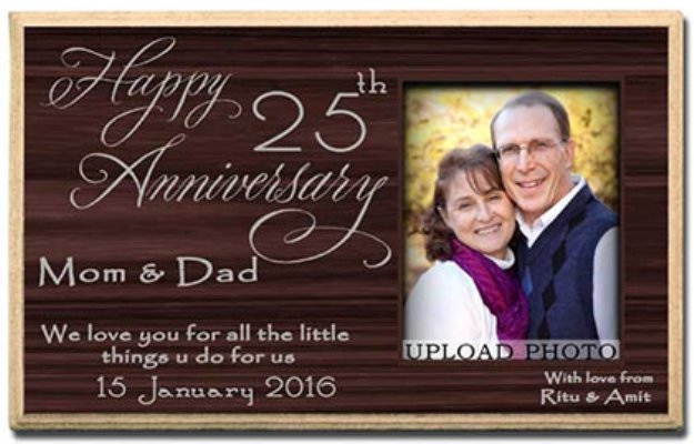 lovable anniversary gifts for parents to make their special day
