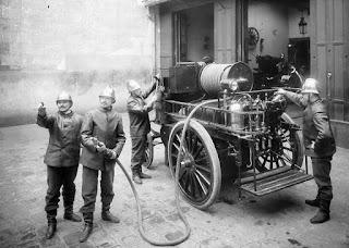 pompiers en 1898