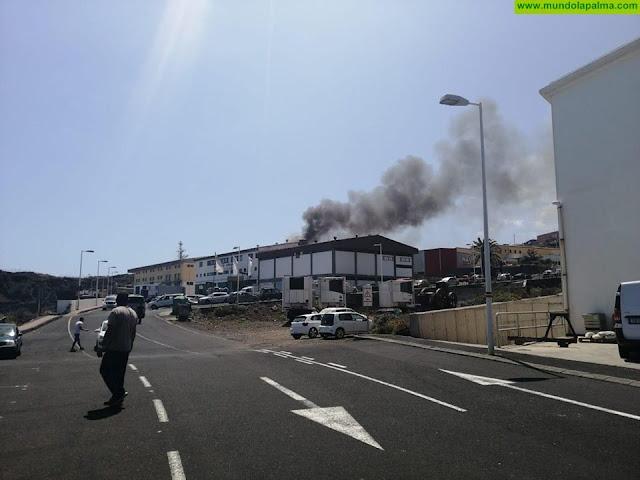 Incendio en el Polígono Industrial Los Guinchos
