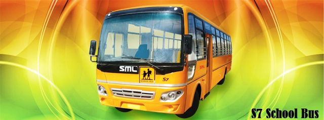SML S7 31 Seater Schoolm Bus