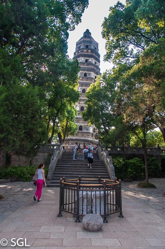 Suzhou, pagoda. China