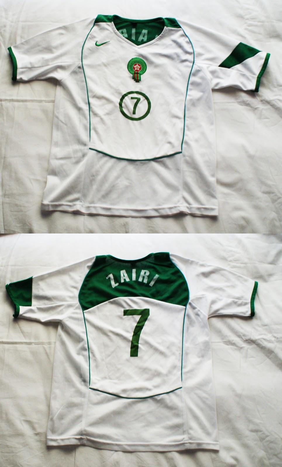 2º Camiseta Marruecos 2004 2005 4b2357e954991