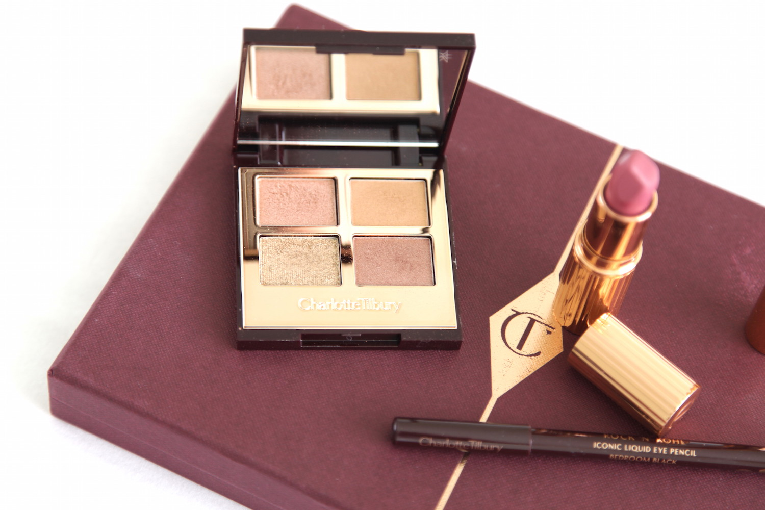 charlotte tilbury dreamy look collection review