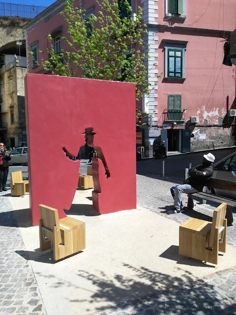 Installazione di Totò-Rione Sanità-Napoli