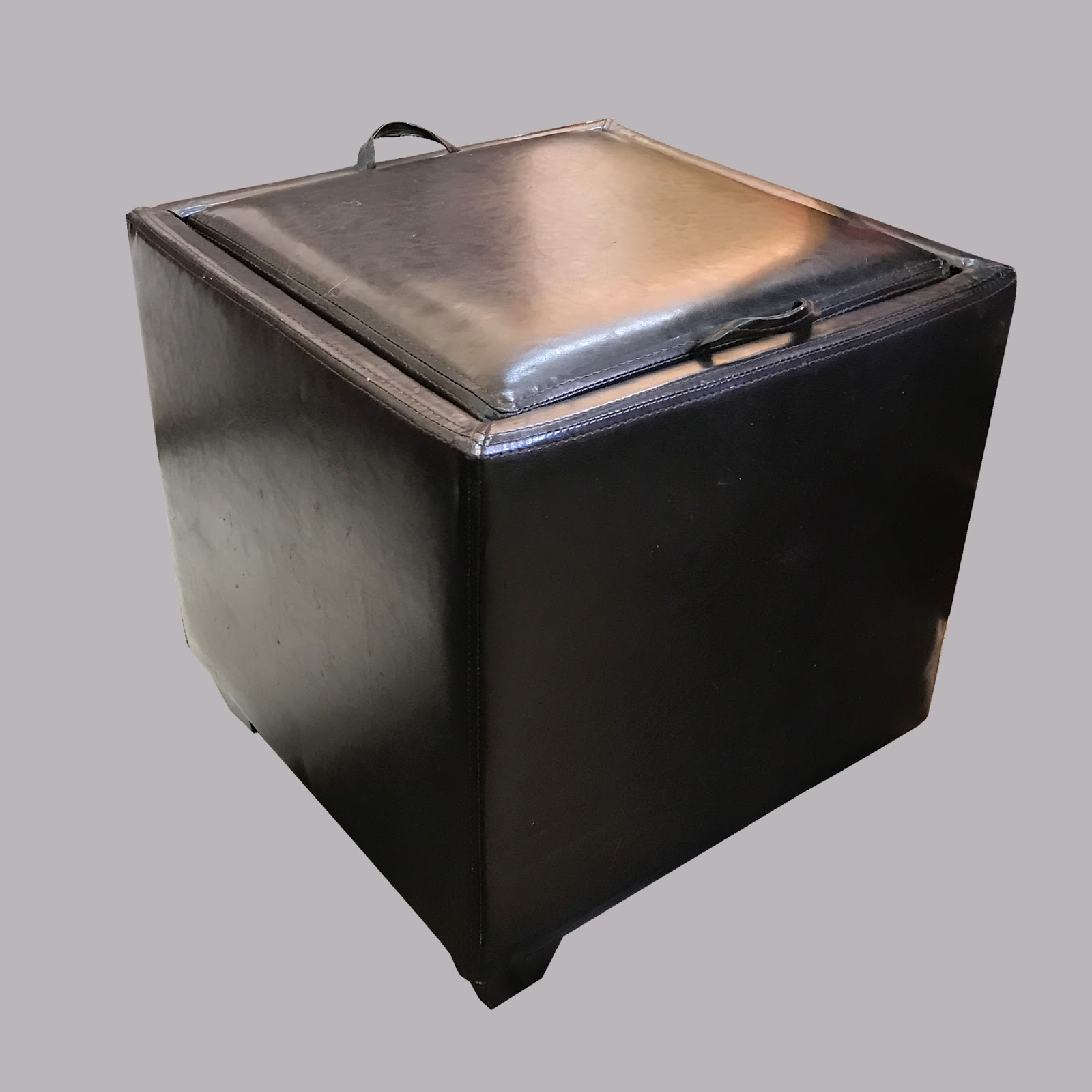 Uhuru Furniture Amp Collectibles Leather Storage Ottoman