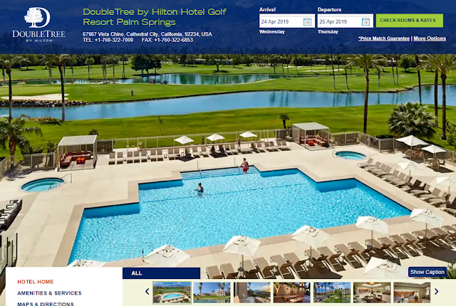 BUG-DoubleTree by Hilton Hotel Golf Resort Palm Springs 錯誤價格
