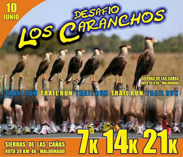21k 14k 7k Desafío Los Caranchos (Trail run - Sierra de las cañas - Maldonado, 10/jun/2018)