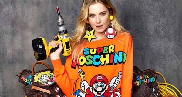 Nintendo Super Moschino