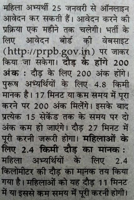 UP Police Recruitment Merit List