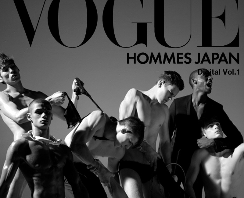 Pierre Debusschere. Vogue Hommes Japan. Digital Vol. 1