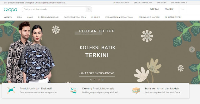 produk handmade unik indonesia di qlapa.com