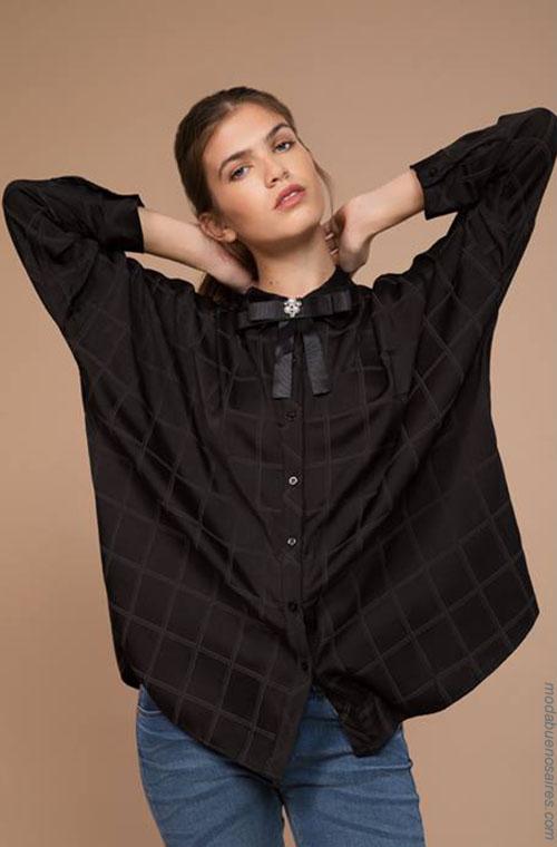 Camisas invierno 2018. Ropa de moda 2018.
