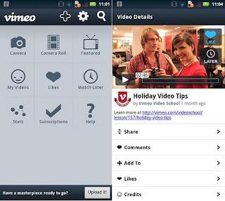 Descargar Vimeo para Android Gratis
