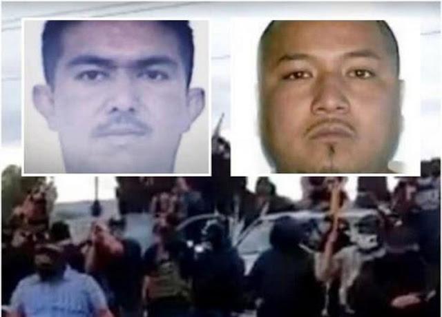 """Los meros capos pesados """"El Marro"""" y El Señor de la Silla"""