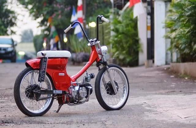 Foto Gambar Modifikasi Motor Honda Astrea Star Jap Style Keren Unik Terbaru