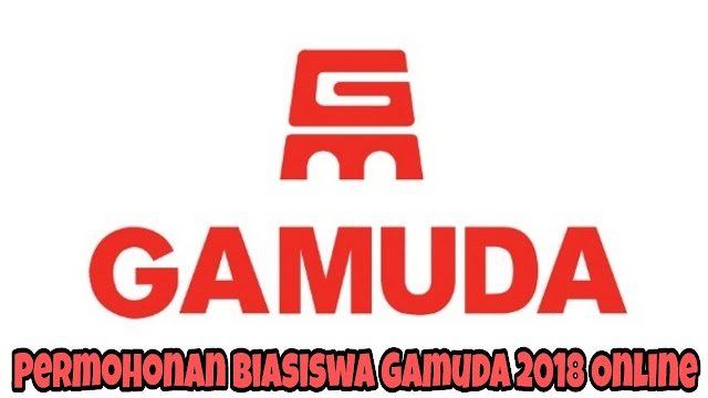Permohonan Biasiswa Gamuda 2018 Online
