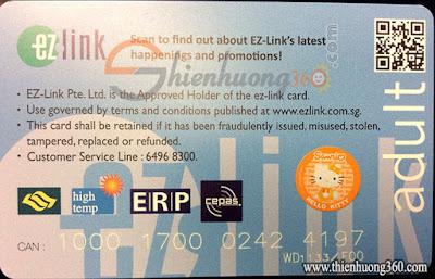 Ez-link Singapore
