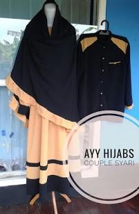 Baju Gamis Syar I Couple Terbaru Dan Mewah Hijab Store