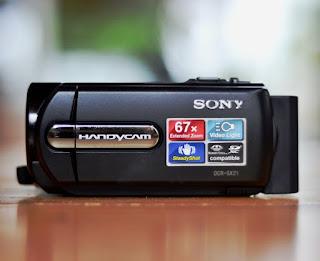 Camcoder Bekas Sony DCR-SX21e