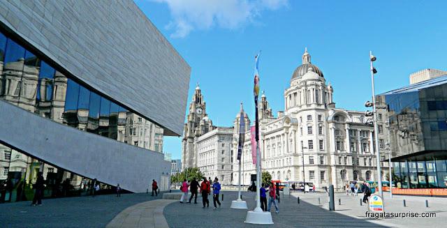 Museu de Liverpool, no Waterfront