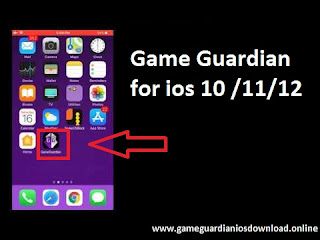 Game Guardian app on your IOS