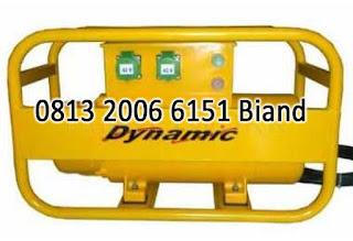 jual Concrete Electric Vibrator DYNAMIC DHF+DIVO (High Frequency Converter + Shaft Flexible Internal Vibrator)